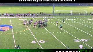 NJ Spartans Highlight of the Night: Week 4 of 2012 NEFL Season