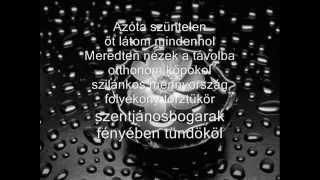 Janicsák Veca   Most múlik pontosan Lyrics