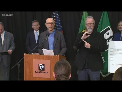WATCH: King County Health Officials Discuss Status Of COVID-19 Spread