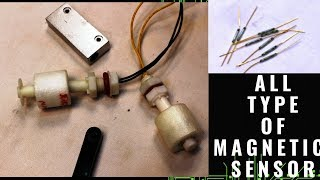 HOW TO USE MAGNETIC SENSORS  [ REED SWITCH INSIDE]