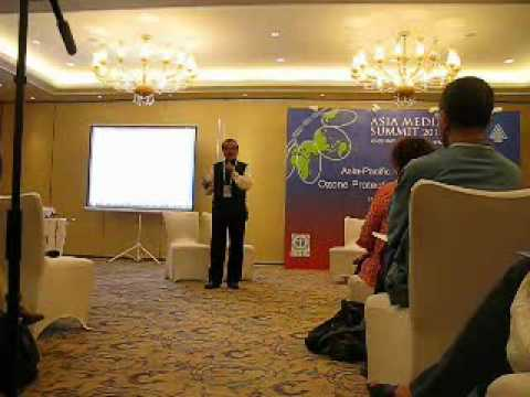 R. Shende addresses Journalists at Asia Pacific Media Summit, Beijing - Part I