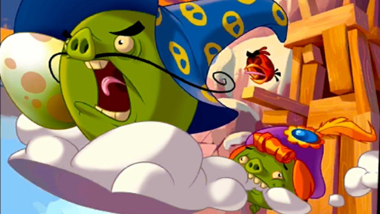 Мультик Игра Энгри Бердс ЭПИК #26 Прохождение игры Angry Birds Злых Птичек #КРУТИЛКИНЫ