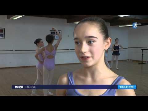 France 3 Iroise - Stage danse classique