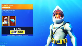 GIVING AWAY CHOMP SR. SKIN! (! Giveaway ! Member ! Social) | Fortnite Battle Royale