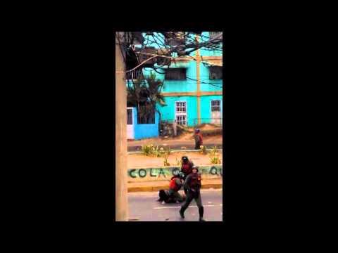 Isabelica valencia edo carabobo 24 de febrero 2014 venezuela