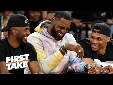 Free agents should 'salivate' at the chance to play with LeBron, Lakers – Ryan Hollins | First Take
