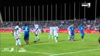 هدف الهلال الثالث ضد الوحدة في الجولة 14 من دوري عبداللطيف جميل