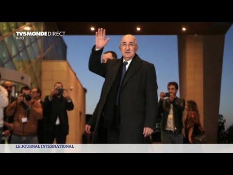 Présidentielle en Algérie : Abdelmadjid Tebboune présenté comme élu au premier tour de l'élection