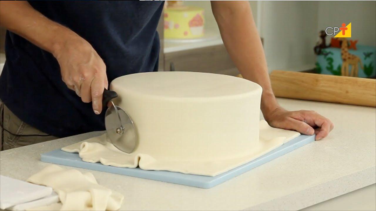 Como fazer bolos confeitados passo a passo