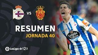 Resumen de RC Deportivo vs RCD Mallorca (1-0)