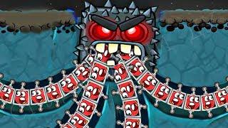 - 99999 КРАСНЫХ ШАРИКОВ в BAD PIGGIES Машинка про Красный Шар Энгри Бердз Red Ball 4 in Angry Birds