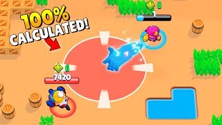 100% CALCULATED *GENE* TROLL! (Brawl Stars Fails & Epic Wins! #8)