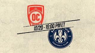 2018 #USLPLAYOFFS - Orange County SC vs Saint Louis FC: October 20th, 2018