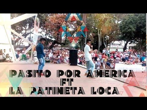 Concierto En VEVO Un Pasito Por America Ft La Patineta Loca BNK- GRUPO KVRAS