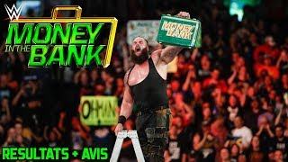 Résultats : MONEY IN THE BANK 2018