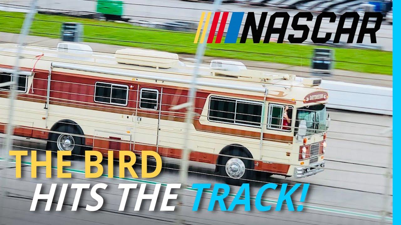 "Download The KYD Wanderlodge Hits ""Top Speed"" at NASCAR! 🏁"