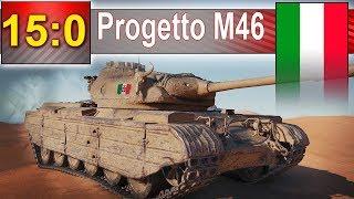Progetto M46 i 15:0 - jak to się stało :) - World of Tanks