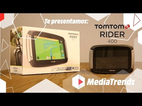 TomTom Rider 400 review - deel1