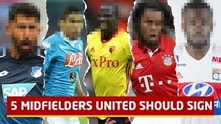 5 Midfielders United Should Sign feat Tanguy Ndombele  Man Utd Transfer News