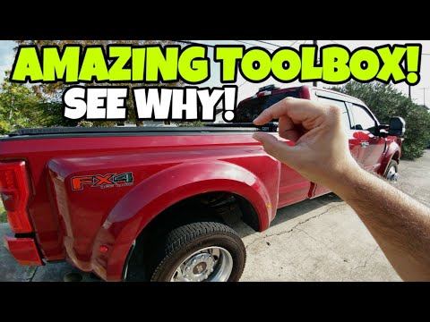 Perfect Truck Tool Box For A Fifth Wheel RV! Check Out This Low Profile Better Built SLE!