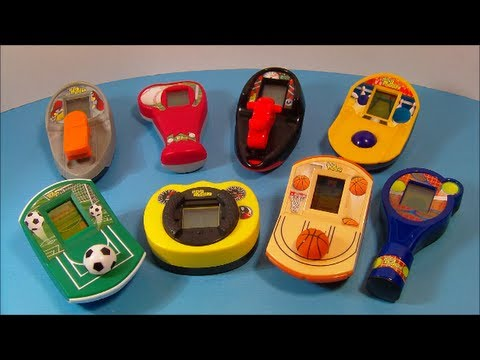 2008 McDONALD S DIGI SPORTZ SET OF 8 MINI HAND HELD VIDEO GAMES TOY     2008 McDONALD S DIGI SPORTZ SET OF 8 MINI HAND HELD VIDEO GAMES TOY REVIEW    YouTube