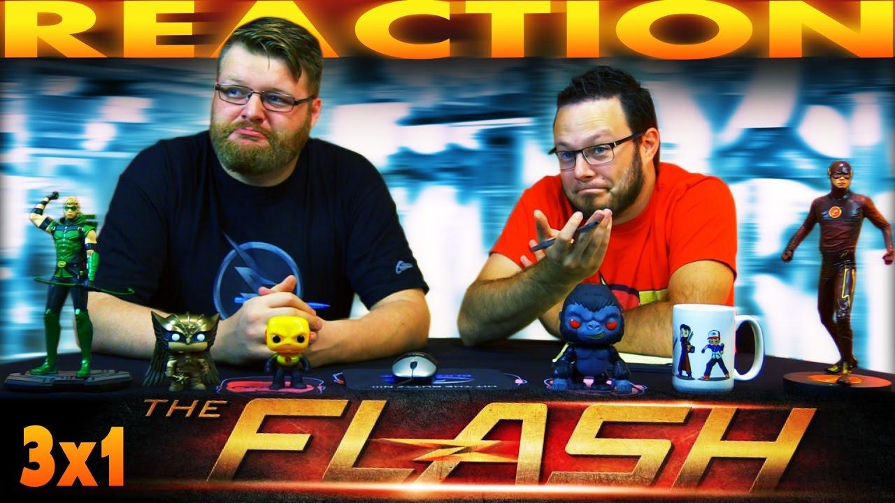 "Download The Flash 3x1 PREMIERE REACTION!! ""Flashpoint"""