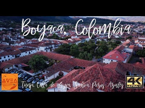 Boyaca - Colombia by Mavic and Osmo 4K