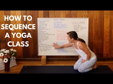How To Sequence A Yoga Class Youtube