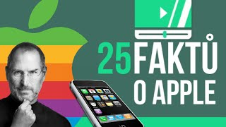 25 FAKTŮ o Apple