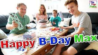 happy birthday max   geburtstag bei tiptaptube