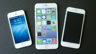 iPhone 6 vs iPhone 5s: 4, 4.7 & 5.5-inch