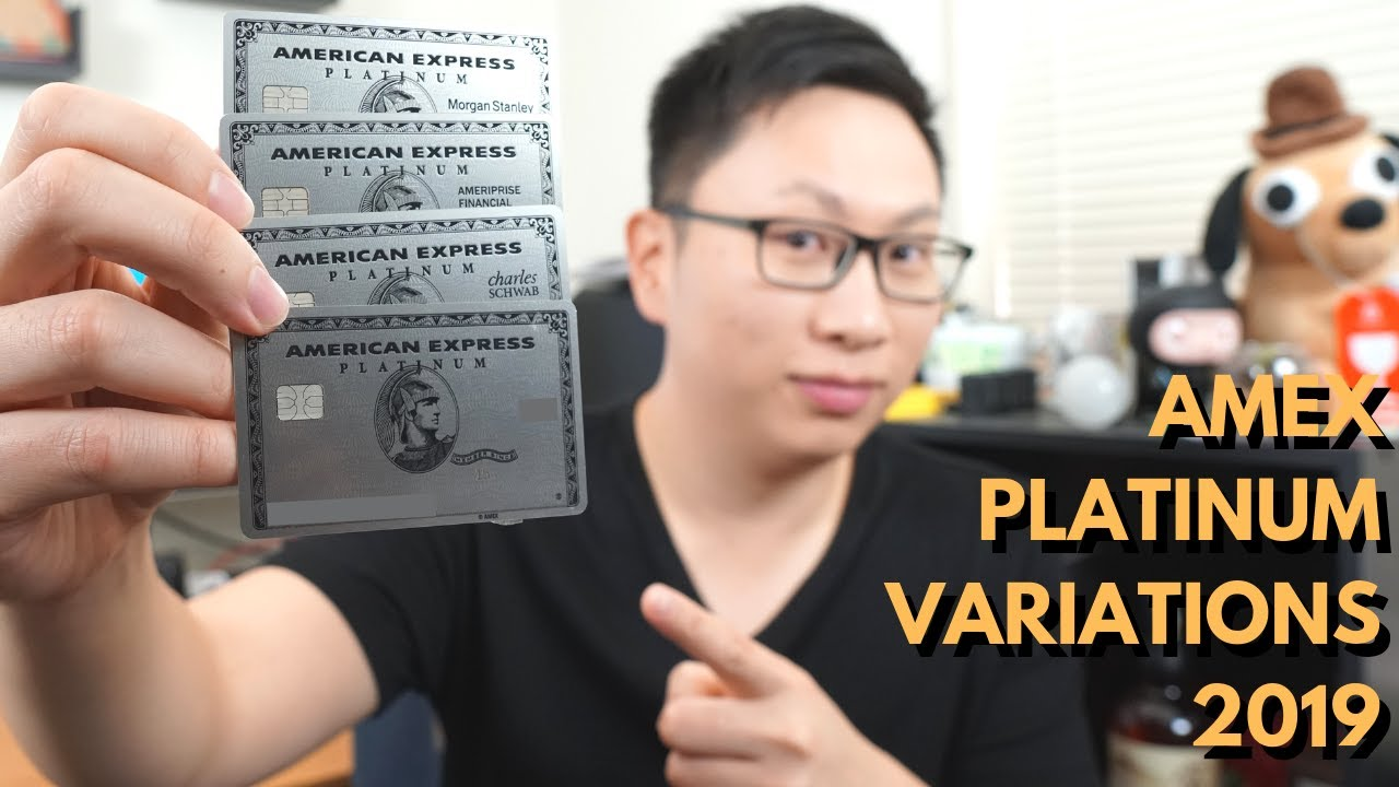 Every Single Variation of the American Express Platinum Card (2019 Update)