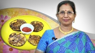 Spicy Aubergine | Mallika Badrinath Indian Recipes | Snacks