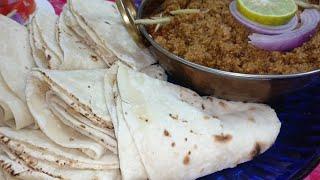 Chapati | Roomali roti recipe | bazaar see achhi chapati Ghar par
