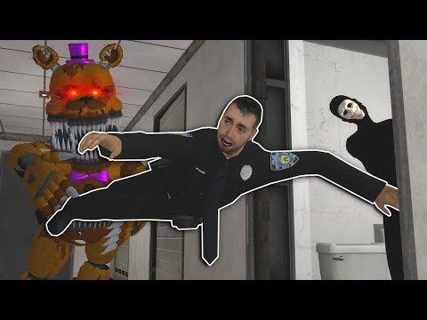 NIGHTMARE FREDDY FOUND AT SCP LAB! - Garry's Mod Multiplayer Gameplay - FNAF Gmod Survival