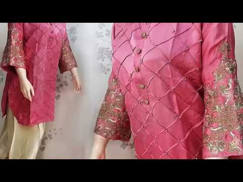 2222dfd11caf Latest Fall Winter Dresses For Pakistani Girls 2017 2018 - YouTube