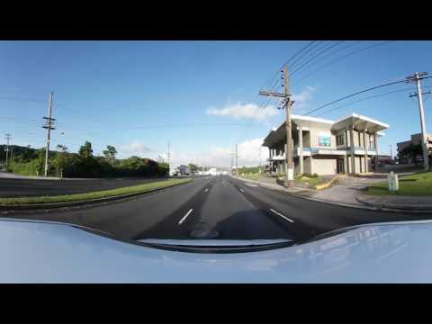 (VR) 360view#010 GUAM Hotel Rd - Hospital Rd - Marine Corps Drv 4K