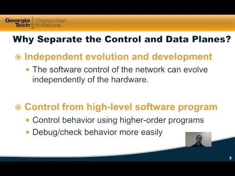 M2.1: Overview of Control and Data Plane Separation