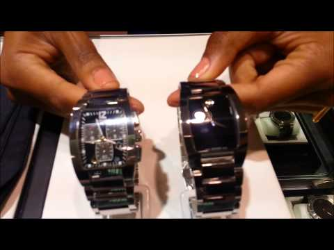Movado Fiero Tungsten Chronograph Watch Review VS Regular