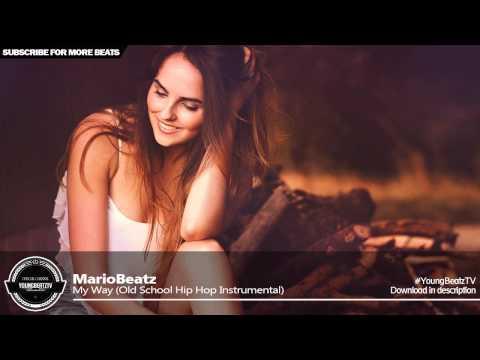 MarioBeatz - Happy Old School Scratch Rap Beat Hip Hop  Instrumental 2015 - My Way