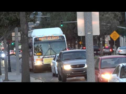 Orange County OCTA Buses at Tustin California