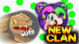 agar io new clan novo clan recrutando destroying all the server