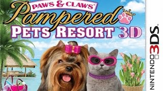 Paws and Claws Pampered Pets Resort 3D Gameplay {Nintendo 3DS} {60 FPS} {1080p}