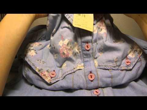 Джинсовая рубашка | ПОСЫЛКА С ALIEXPRESS (unboxing)