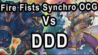 fire fists synchro ocg vs ddd