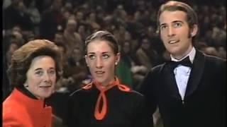 Angelika & Erich Buck  -  1971 European Figure Skating Championships  FD