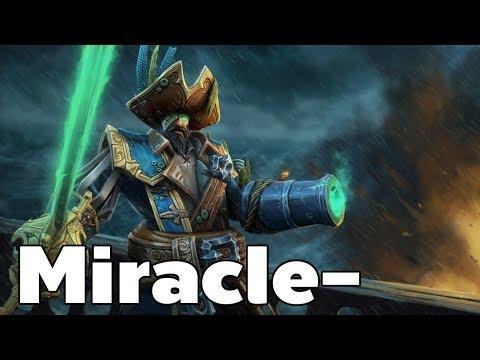 Miracle- Kunkka Mid   Dota2 Rank Match Gameplay