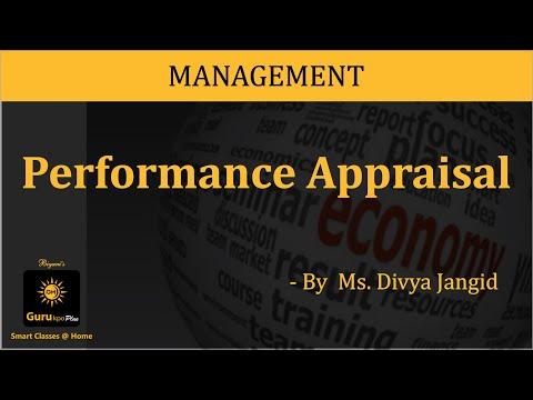 Performance Appraisal (BBA, MBA) Lecture by Divya Jangid