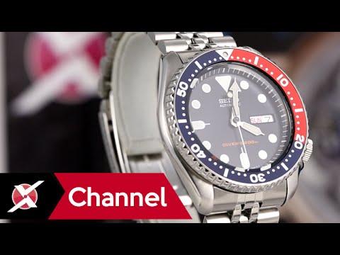 Đồng hồ Seiko Pepsi SKX009K2: Chinh phục đại dương xanh - Xchannel