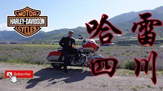Riding Harley's In Sichuan!  成都哈雷摩托车俱乐部